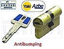 BOMBILLO - CILINDRO, AZBE YALE, SEG ANTIBUMPING, HSK 35+35 LATON