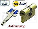 BOMBILLO - CILINDRO, AZBE YALE, SEG ANTIBUMPING, HSK 40+40 LATON