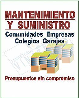 COMUNIDADES COLEGIOS FERRETERIA VINATEROS CAVERO MORATALAZ