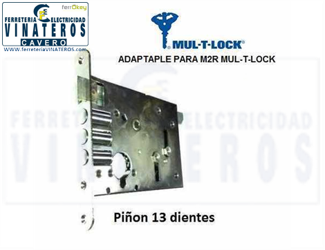 CERRADURA, MULTLOCK, NUCLEO TPO MC2R, TIPO MULTILOCK